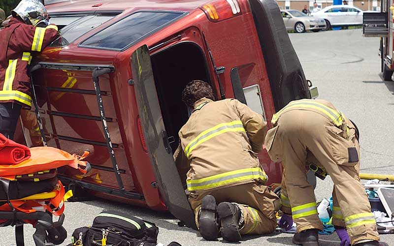 common truck accident injuries